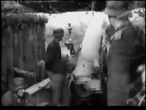 Great German Artillery Footage - WW2 [With Original Sound]