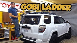 Super Simple Install of a Gobi 4runner Ladder