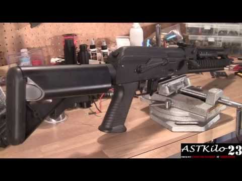 REVIEW: Echo 1 Red Star AK47 OCW Airsoft Electric Gun  -ASTKilo23-