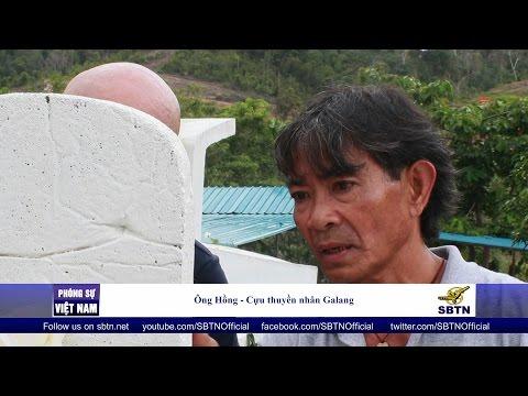 020816 - PHÓNG SỰ VIỆT NAM: Thuyền nhân Việt trở về Galang để trùng tu di tích sau 30 năm