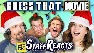 GUESS THAT HOLIDAY MOVIE CHALLENGE! (ft. FBE STAFF)