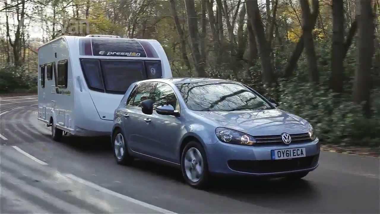 Practical Caravan Volkswagen Golf 2 0 Tdi Review 2012