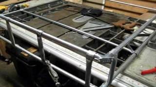 Play roof rack rod tube for Fishing rod roof rack tube