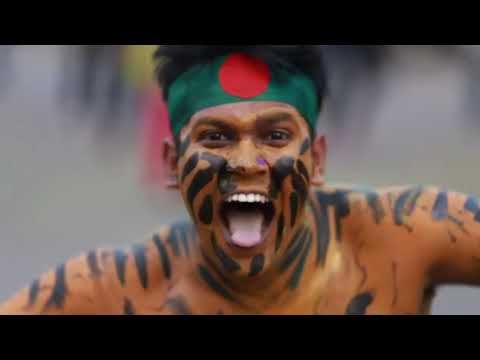 ICC World T20 Bangladesh 2014 - Flash Mob, Northern University Bangladesh (Khulna Campus)