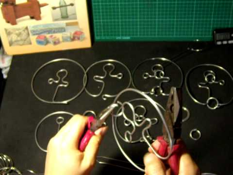 4/4 Combine 2 simple wire puzzles--Demonstration