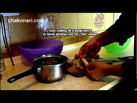 Make your own seitan from wheat flour