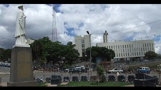 Ethiopia -- The ceremony during the return of the Statue of Abune Petros to Menelik Square