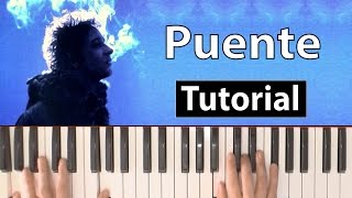 Gustavo Cerati Puente Piano tutorial Lesson chords and lyrics