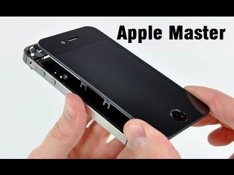 Замена дисплея айфон 5 s  видео