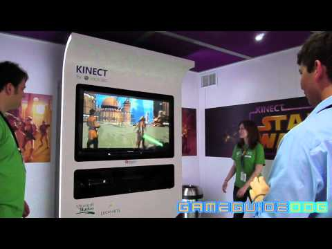 Star Wars Kinect Gameplay Live from E3 2011