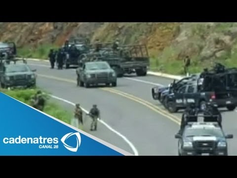 Ataques a policías federales no cesan en Michoacán; hay dos policías fallecidos
