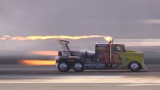 2014 MCAS Miramar Air Show - Shockwave Jet Truck @ 352.6 mph !!!