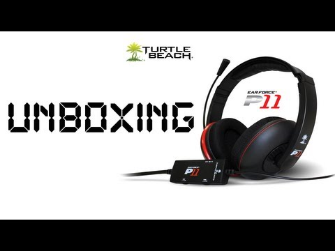 Turtle Beach P11 Unboxing / Mic Test (PS3/PC/MAC)