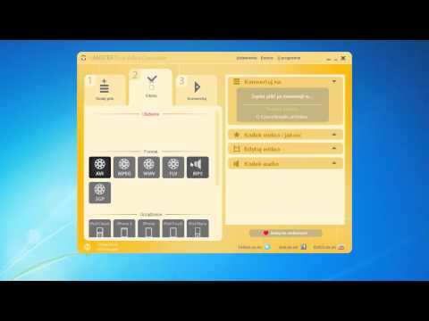 Konwersja Video (hamster Free Video Converter) Avi Do Mp4 video