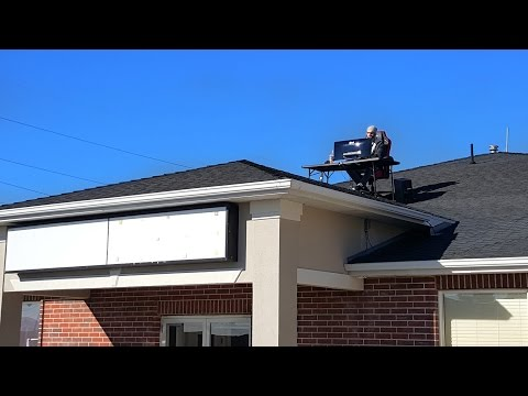 DESK ON ROOF PRANK