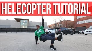 How To Helicopter | Mestre Xuxo (Enjoy Yourself Movement, Brazil)