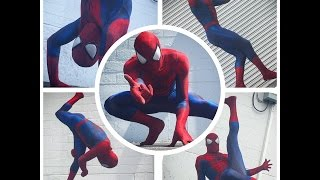 "Spider-Man dancing to ""Truffle Butter"" Remix"
