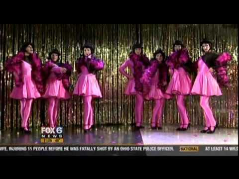 """LA CAGE AUX FOLLES"" Flamingos and Feathers on Fox 6 News!"