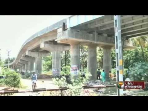 Incomplete Flyover and Intense Traffic Jams in Coimbatore
