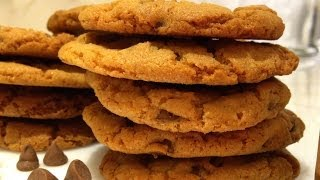 Chocolate Chip Cookies Recipe - Easy, Tasty, Crunchy Cookies