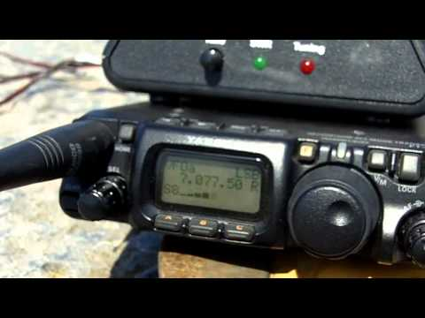 PE2JB kite portable QRP.mov