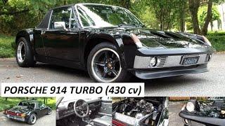 Garagem do Bellote TV: Porsche 914 Turbo (bloco Audi, discos Wilwood e 430 cv)