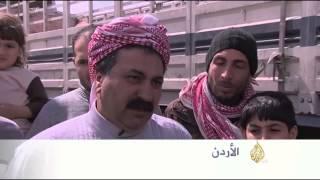 خسائر سائقي الشاحنات جراء إغلاق معابر بالأردن