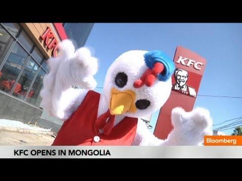 KFC Opens Restaurant in Mongolia, Spreading Chicken Mania