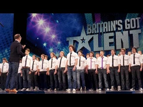 Only Boys Aloud - The Welsh choir's Britain's Got Talent 2012 audition - UK versio...