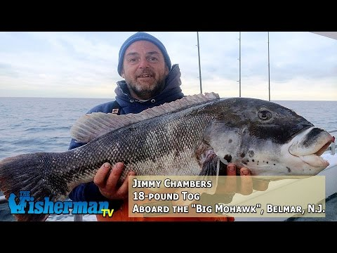 December 22, 2014 New Jersey/Delaware Bay Fishing Report with Chris Lido