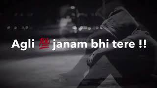 Aankhein Mila mujhse abhi bhi  sad song