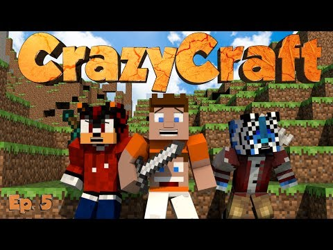 CRAZYCRAFT - EPISODE 5 - PLASMA CANNON - With ShadowShak & ChaseKayzer (Minecraft)