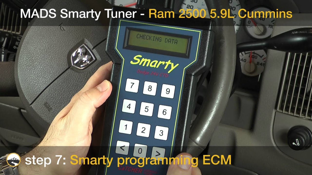 Smarty Tuner In A Common Rail Cummins Youtube