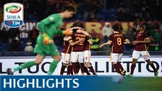 Roma - Fiorentina 4-1 - Highlights - Matchday 28 - Serie A TIM 2015/16