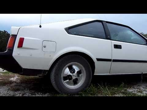 1983 Toyota Celica Supra MKII 5mge engine rev