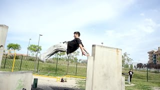 It's all about repetition - ETRE-FORT athlete Pedro Phosky Leon Gomez - Parkour & Freerunning