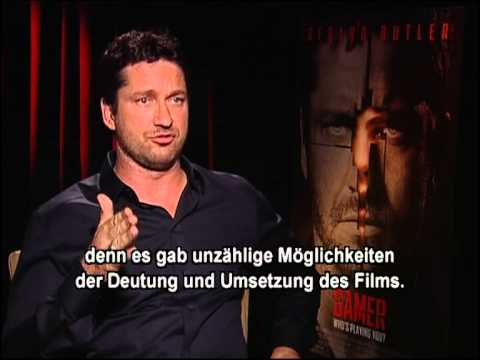 GAMER| Interview Gerard Butler eng / ger sub