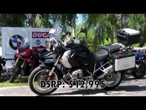 Pre-Owned 2011 BMW R 1200 GS Sapphire Black Metallic at Euro Cycles of Tampa Bay