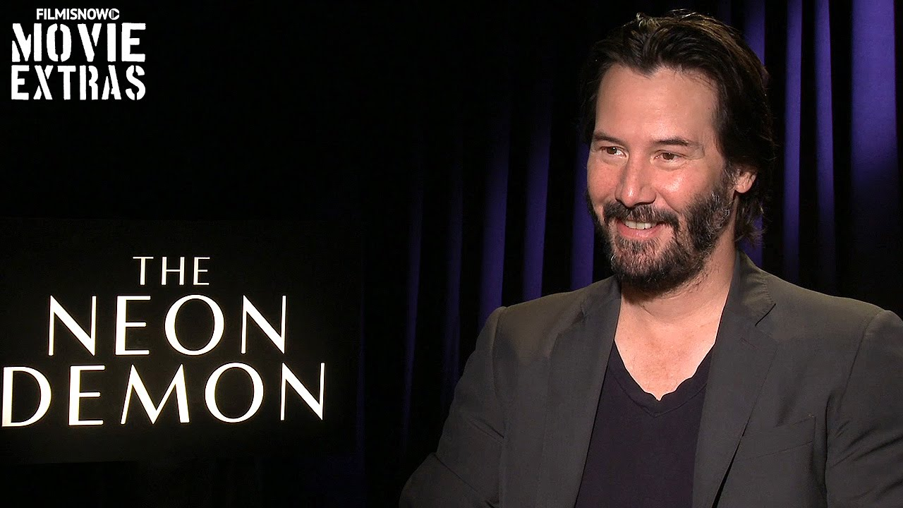 Keanu Reeves talks about The Neon Demon (2016)