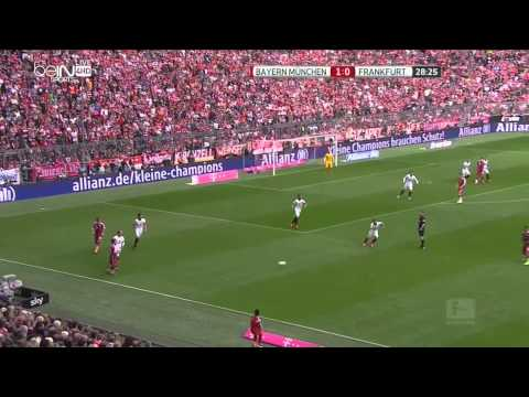 Thiago Alcantara vs Eintracht Frankfurt (11/04/15)    HD   1080p