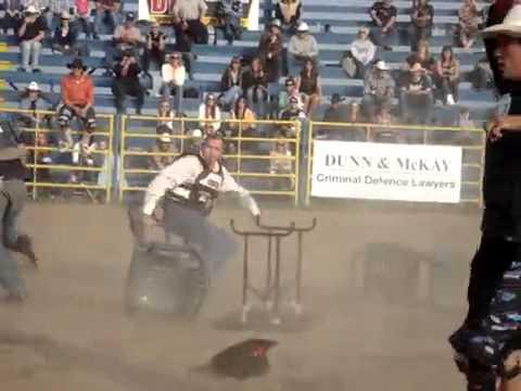 2010 Calgary Police Rodeo Cowboy Bull Poker