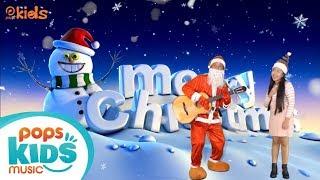 Ông Già Noel Vui Tính - Bé Hoài Anh   Nhạc Giáng Sinh Vui Nhộn