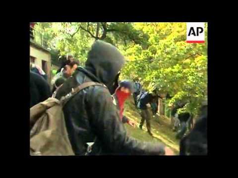 CZECH REPUBLIC: IMF/WORLD BANK SUMMIT & PROTESTS (V)