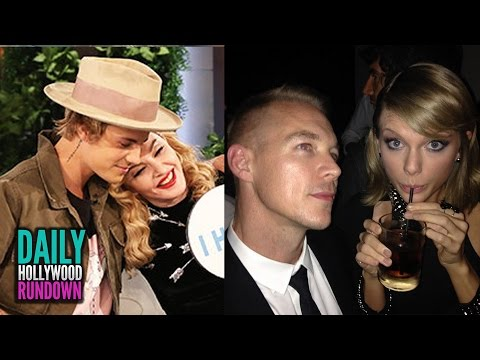 Justin Bieber Plays Sex Game With Madonna - Diplo Disses Taylor Swift Fans (dhr) video