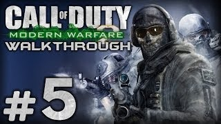Прохождение Call of Duty: Modern Warfare 2 — Миссия №5: ОХОТА