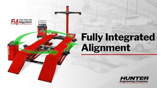 Fully Integrated Alignment Equipment from Hunter Engineering
