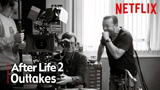 After Life Season 2 Outtakes | Ricky Gervais