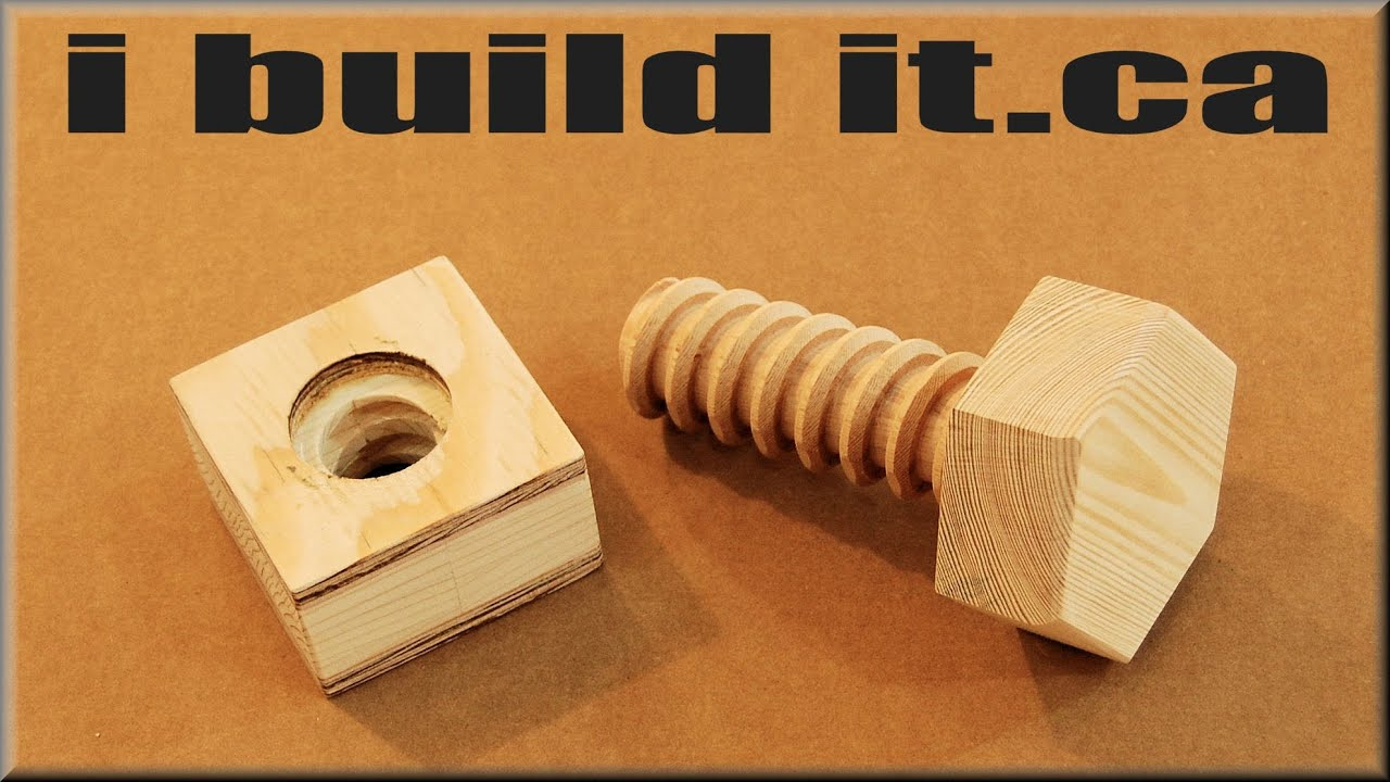 Wooden Nut Construct Youtube