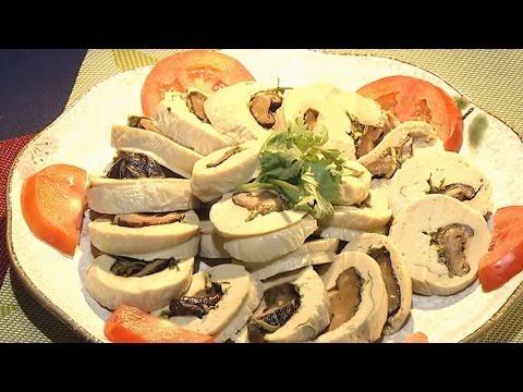 現代心素派-20161130 香積料理 - 豆包香菇卷、黃金豆包酥 - 在地好美味 - 淡水蔬食與你有約
