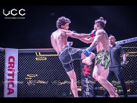 MMA Amateur Fight UCC#45 Costa Rica vs Panama,  Rivera vs Della Sera
